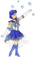 Seramyu Super Sailor Mercury by mene