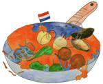 Nederland(s eten) in de pan by mene