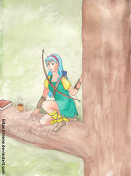 [Forever Young - Serena Saichi] Tea in a tree by mene