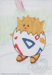 [Pokemon] Togepi goes ice-skating by mene