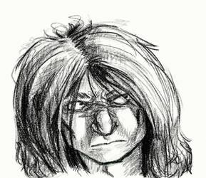 Oshii-sketch by acientwolf90