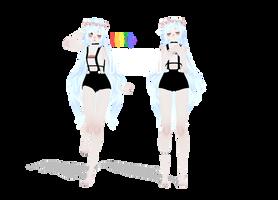 [MMD] LGBTQ+ Model .:DOWNLOAD:. by MMDLauren