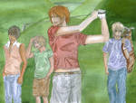 Golf - Green by lona-green-butterfly