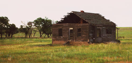[35mm] Abandoned Homestead by FabulaPhoto