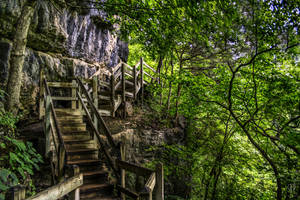 Scaling the Ozarks by FabulaPhoto