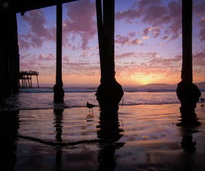 Pismo Beach Sunset by FabulaPhoto