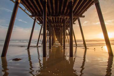 Pismo Beach Pier by FabulaPhoto