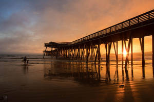 Pismo Beach Evening by FabulaPhoto