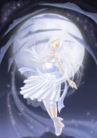 Lady in White by Kyatia