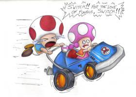 Crazy Mushroom Drivers by destinyhunter86