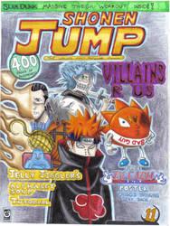 Shonen Jump 2009 contest entry by destinyhunter86