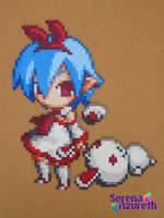 Pleinair Usagi-san Bead Sprite by SerenaAzureth