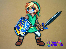 Link to the Past Bead Sprite by SerenaAzureth
