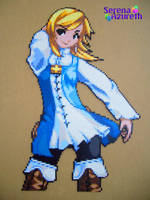 Refia FFIII Bead Sprite by SerenaAzureth