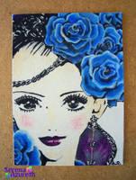 Paradise Kiss Roses ATC by SerenaAzureth