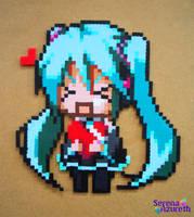 Vocaloid Valentines from Miku by SerenaAzureth