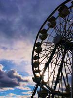 The Golden Wheel by smilejustbcuz