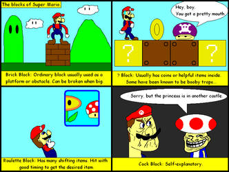 The Blocks of Super Mario by DracianFlame