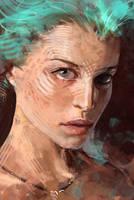 Portrait 10 by kastep