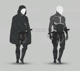 Cyborg Ninja Redesign by DELIRIO88