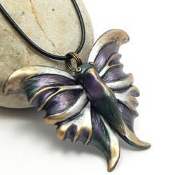 Purple butterfly by DesertRubble