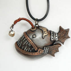 Steampunk Angler Fish by DesertRubble