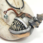 Steampunk Angle Fish redux by DesertRubble
