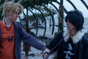 Nico and Will by Ellyana-cosplay