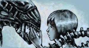 Alien by Rilun