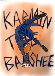 CP Oc: Karmin the Banshee by KnockoutsSister