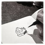 Garfield sketch. by bloglaurel