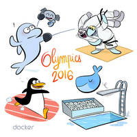 Olympics 2016. by bloglaurel