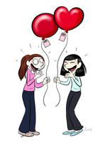 Balloons. by bloglaurel