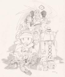 Rockman Dash 2 Pirates by Inclover