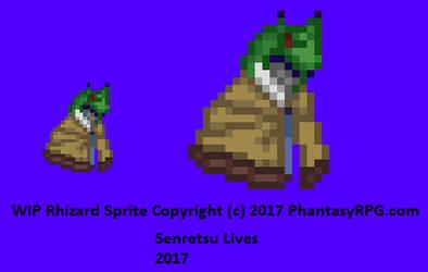Rhizard WIP by Senretsu