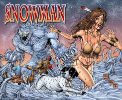 Snowman by MattMartinArt