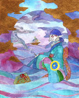 Medicine Seller - Umibozu by adreamofthestars