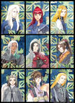 Twelve Kingdoms Cards by adreamofthestars