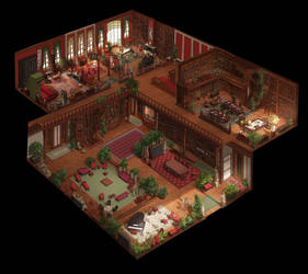 House of knowledge  by Gevoel