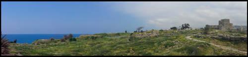 Byblos Panorama chateau by GabrielM1968