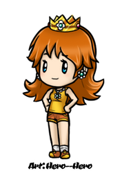 Paper Sports Daisy by Hero-of-Awesome