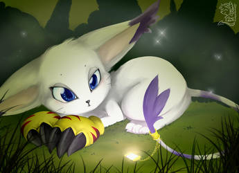 AT: gatomon by mr-tiaa