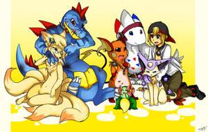 pokemon Heart Gold team by mr-tiaa