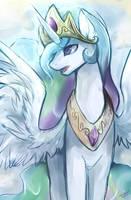 Princess Celestia by mr-tiaa