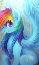 rainbow dash by mr-tiaa