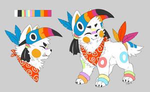 MYO Sushi Dog - Froot Loops by mr-tiaa