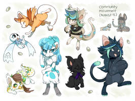 Community Movement - Aug/Sep by mr-tiaa