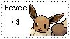 Pokemon Stamp Eevee by Chrisszilla