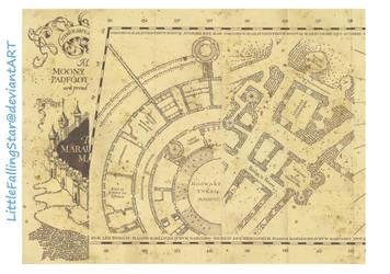 Marauders Map page 1 by LittleFallingStar