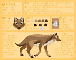Avalanche | Reference Sheet (2016) by Icarust